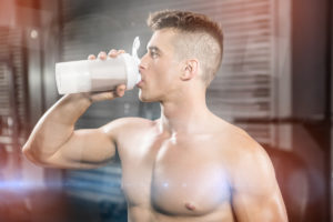 fitness gym protein-shake
